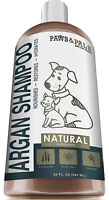 Natural Pet Dog Cat Organic Shampoo with Argan Oil for Dry Itchy Sensitive Skin