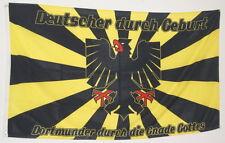 FAHNE FLAGGE DO 0699 DORTMUNDER durch die GNADE GOTTES MEINE STADT DORTMUND NEU