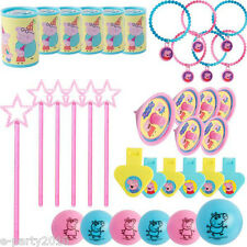 PEPPA PIG FAVOR PACK (48pc) ~ Birthday Party Supplies Treat Loot Goody Toys Nick