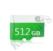 512GB microSD SDXC Flash TF Memory Card Class 10 Micro SD FREE SD Adapter Retail