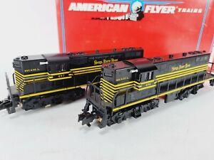 American Flyer 6-48017 Nickel Plate Road GP9 Diesel Locomotive Set S