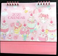 SANRIO My Melody Cute Ring desk Calendar start January 2020 New year Cake