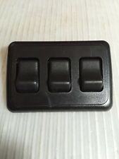 Black 12 Volt 3 Gang On/ Off Switches New Old Stock Camper Trailer Rv