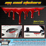 Realistic Dripping Blood Vinyl Sticker Decal, 4X4 Ute Car Truck funny bleeding