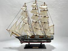 6pc Raw Brass Nautical Cutty Sark Tall Sail Ships 4509