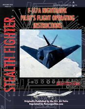 F-117 Nighthawk STEALTH FIGHTER Pilot's Manual BOOK