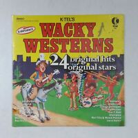 WACKY WESTERNS 24 Original Hits WU3280 Bell Sound BRE LP Vinyl VG++ Cover Shrink