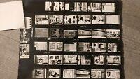 Photos planche contact Grève/ Manifestation de  Mai 1968 .