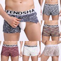 Herren Boxershorts Unterwäsche Unterhosen Slips Underwear Boxer Shorts M-XXXL