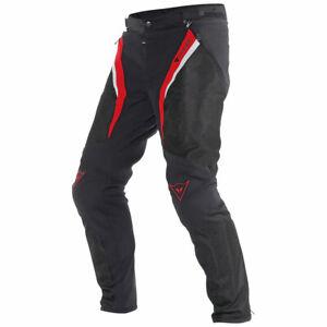 New Dainese Drake Super Air Tex Pants Men's EU 52 Black #175508167850