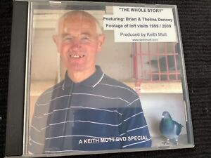 racing pigeon DVD The Whole Story Featuring Brian & Thelma Denney