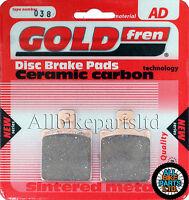 DUCATI MONSTER DARK 620 > SINTERED REAR BRAKE PADS *GOLDFREN* . (FA047HH)