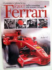 DeAgostini Kyosho Ferrari F2007 1:7 Solamente Fascículo 18 modelismo