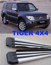 (#501) Mitsubishi Pajero 2007 to 2014 Aluminium Side Steps Running Boards