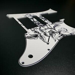 Ibanez Custom Graphic Pickguard RG Jem7 Jem Jr Rose Flower Vintage Stormguitar
