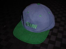 OEM BMW NEW HAT BLUE AND VERMONT GREEN EMBROIDERED LOGO E30 1 3 4 5 6 M1 SERIES