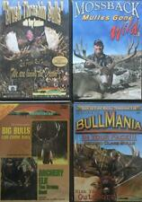 Bull Mullies Hunting Giant Monster Bulls Expert Tactics Strategies 4 DVD LOT NEW