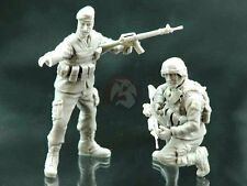 Djiti's 1/35 Afghan ANA with a US Soldier ISAF in Afghanistan (2 Figures) 35016