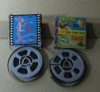 Lot 2 Film Pelicula Super8 mm. Pantera Rosa+ Fireball XL5 Stincray B/N