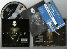 SLAYER - Diabolus in Musica - 2002 JAPAN Re-issue CD OBI ~ FORBIDDEN , TESTAMENT