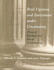 Real Options and Investment under Uncertainty: Classical Readings and-ExLibrary