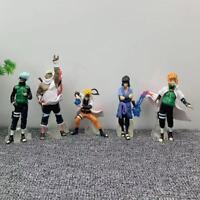 5pcs/set Anime Naruto Uzumaki Kakashi Sasuke PVC Figure Toy Model