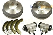 Land Rover Defender 110/130 Rear Brake Drums,Shoes & Cylinders Kit - Bearmach