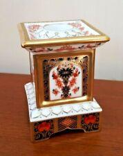 Royal Crown Derby Column Candle Holder Old Imari 1128 1st Quality 1995