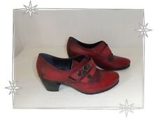 Chaussures Escarpins Fantaisies Bordeaux Aspect Vieillit Dorking by Fluchos P 37
