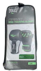 Everlast Prime MMA Universal Isoplate Training Gloves Level II Green/Gray S/M