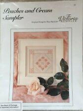 Peaches & Cream Sampler The Victoria Sampler Hardanger/Cross Stitch Partial Kit