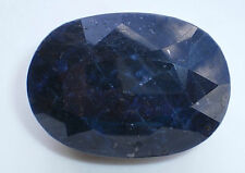 589.60 CT Oval Cut Lab Created Blue Sapphire Corundum Loose Gem GLA Appraisal