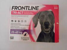 Frontline Tri-Act 3 pipettes pour chiens de grande taille de  20 a 40 kg
