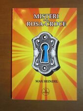 MISTERI DELLA ROSA CROCE Max Heindel Jupiter 2014 filosofia libro di