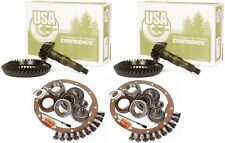 "Jeep Wrangler YJ Ford 8.8"" Dana 30 4.88 Ring and Pinion Master USA Gear Pkg"