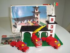 Vintage 1974 Lego No. 570 Fire House With Original Box & Instructions =COMPLETE=