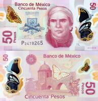 MESSICO - Mexico 50 pesos 2013 Polymer Serie L FDS - UNC