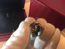 CARTIER ASTRO LOVE Ring / Anhänger Gr.54 750/000 WEISSGOLD mit original Ringbox