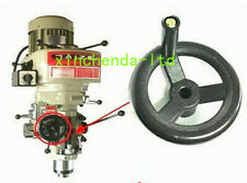 116mm Bridgeport Milling Machine Parts Feed Black Plastic Cnc Mill Hand Wheel