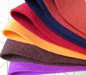 100% Virgin Merino Wool Felt Yardage - Made in USA - Off the Bolt
