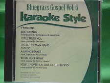 Bluegrass Gospel ~ volume #6 ~ Christian ~ Daywind ~ Karaoke Style ~ CD+G ~ NEW