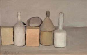 Giorgio Morandi Still Life Poster Reproduction Paintings Giclee Canvas Print