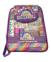 Build A Bear Workshop Cosmetic Backpack Set