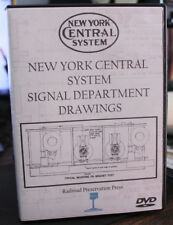 New York Central Railroad System Signal Department Drawings on DVD NYCS 1962