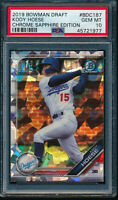 PSA 10 KODY HOESE 2019 Bowman Chrome Draft SAPPHIRE REFRACTOR Rookie RC GEM MINT