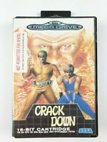 Crack Down | Sega Mega Drive | Complete with Manual | Aus PAL Version
