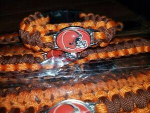 Cleveland Browns Unisex Paracord Bracelet