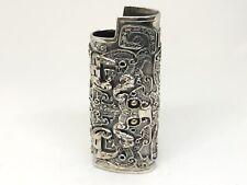 Solid 925 Sterling Silver Lighter Case