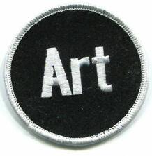 BALTIMORE Ravens 'Art' JERSEY Memorial Iron-on Patch: Art Modell Ravens Patch