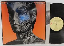 THE ROLLING STONES - TATTOO YOU 1981 ORIG. VG+ VINYL & COVER